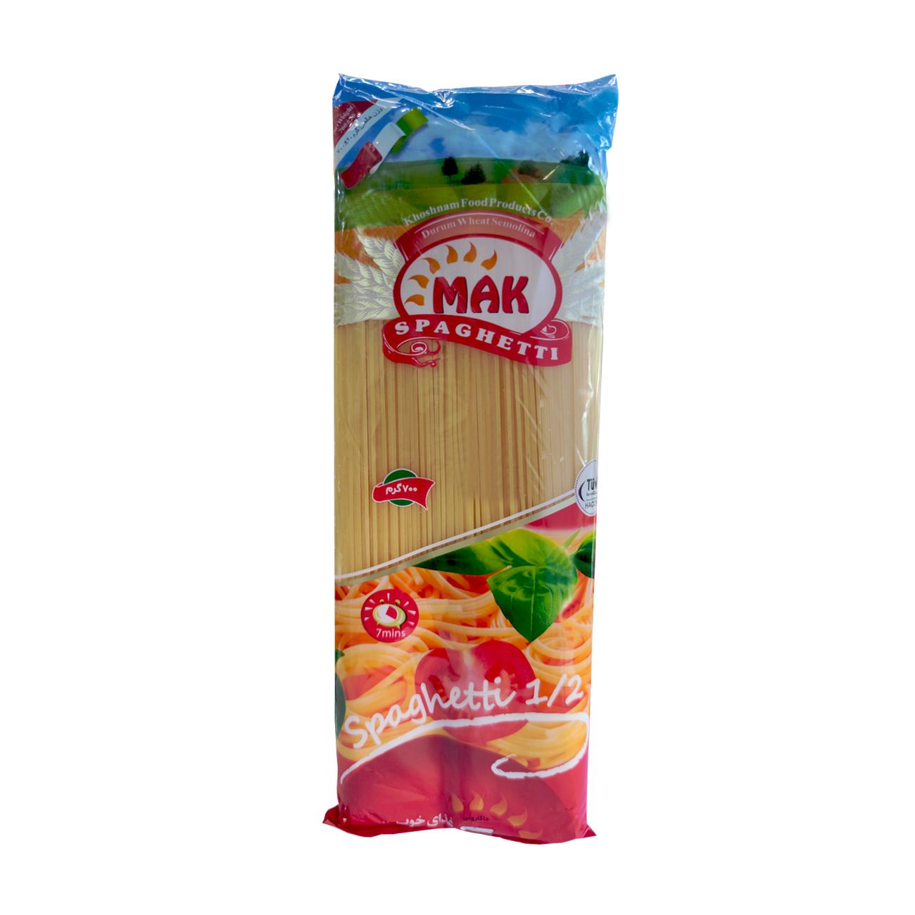 اسپاگتی قطر 1.2 مک ماکارون - 700 گرم