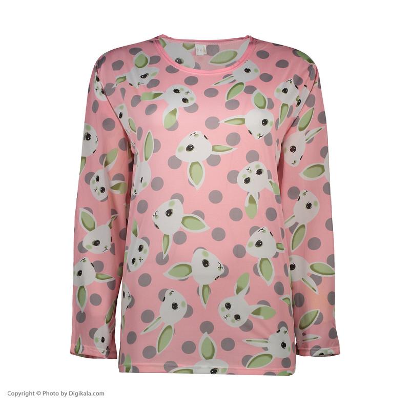 ست تی شرت و شلوار زنانه کد klnqsh- blzpnt.004.2