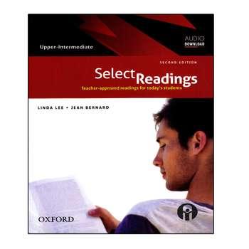 کتاب Select Readings Upper-Intermediate اثر Linda Lee And Jean Bernard انتشارات الوندپویان
