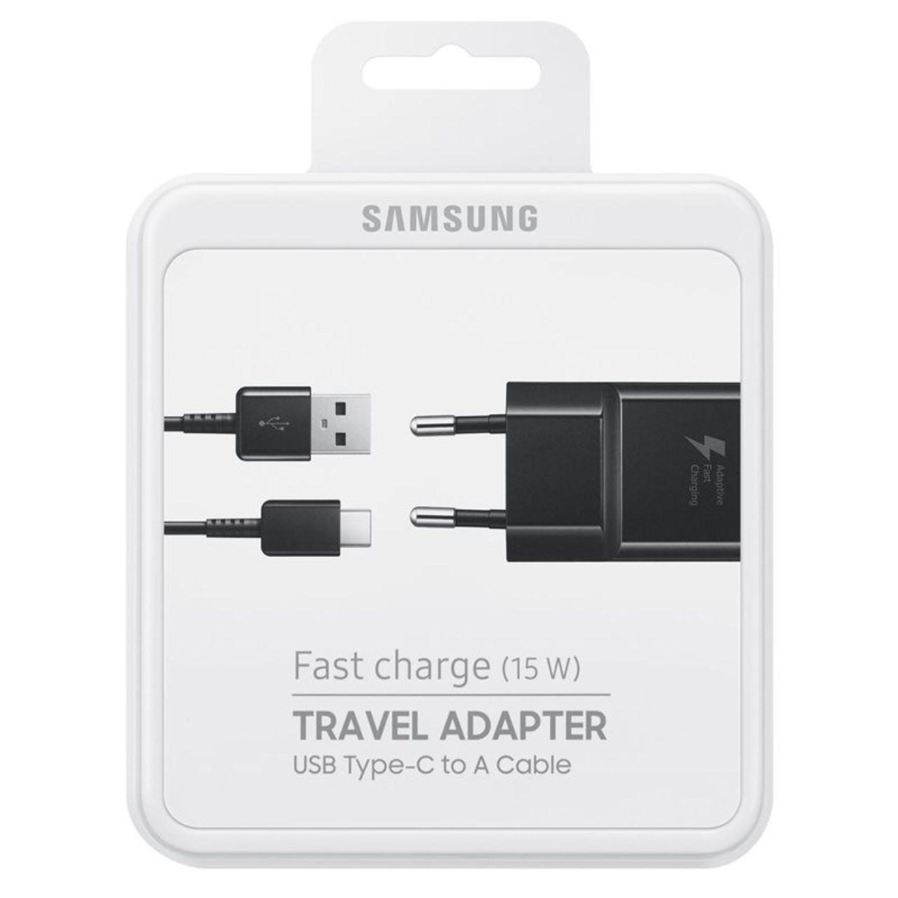 شارژر دیواری مدل EP-TA20EBE همراه با کابل USB C