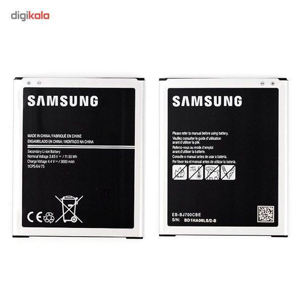 باتری موبایل مدل Galaxy J7 با ظرفیت 3000mAh مناسب برای گوشی موبایل سامسونگ Galaxy J7 main 1 2