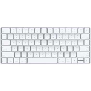تصویر کیبورد بی سیم اپل مدل Magic Keyboard - US English Apple Magic Keyboard - US English