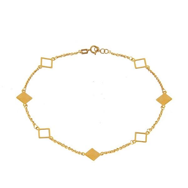پابند طلا 18 عیار عدنان مدل IN49