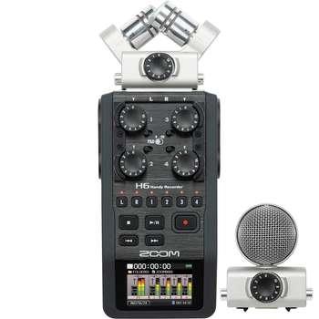 ضبط کننده حرفه ای صدا زوم مدل H6 | Zoom H6 Professional Voice Recorder