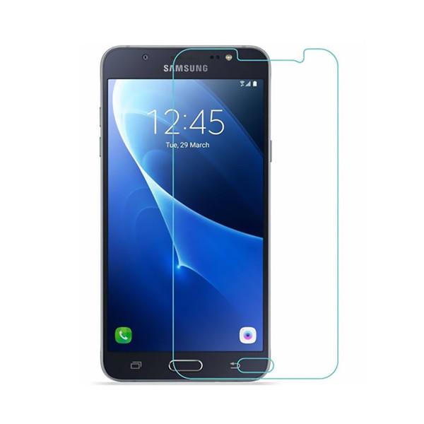 محافظ صفحه نمایش شیشه ای مدل Tempered مناسب برای گوشی موبایل سامسونگ Galaxy J7 2016