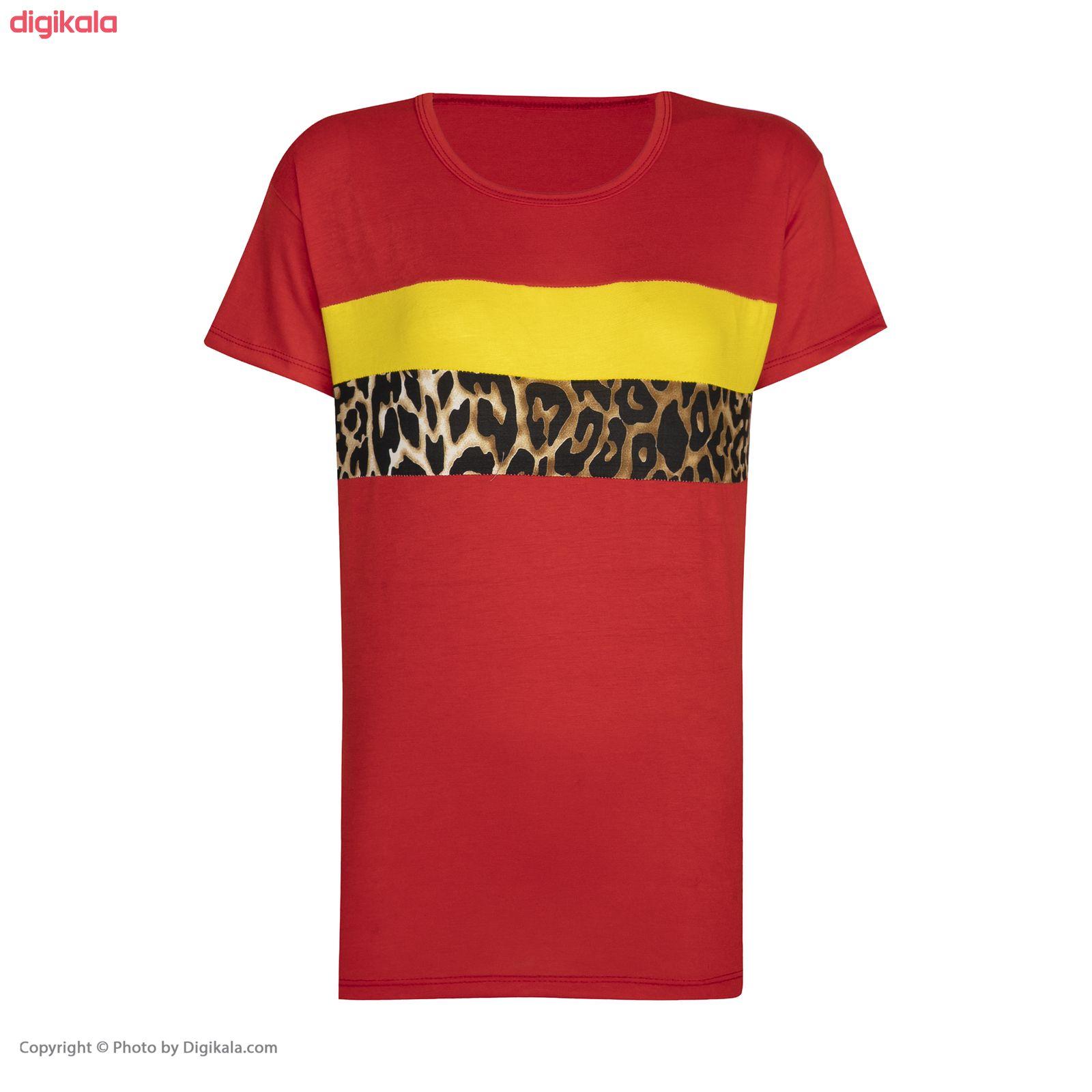 ست تی شرت و شلوار زنانه مدل SM06 main 1 6