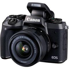 دوربین دیجیتال بدون آینه کانن مدل EOS M5 به همراه لنز 15-45 میلی متر IS STM
