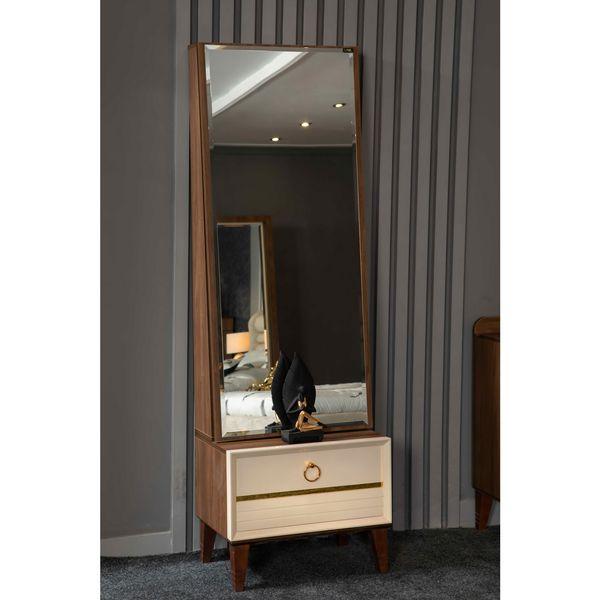 میز آرایش مدل آینه قدی کد 205
