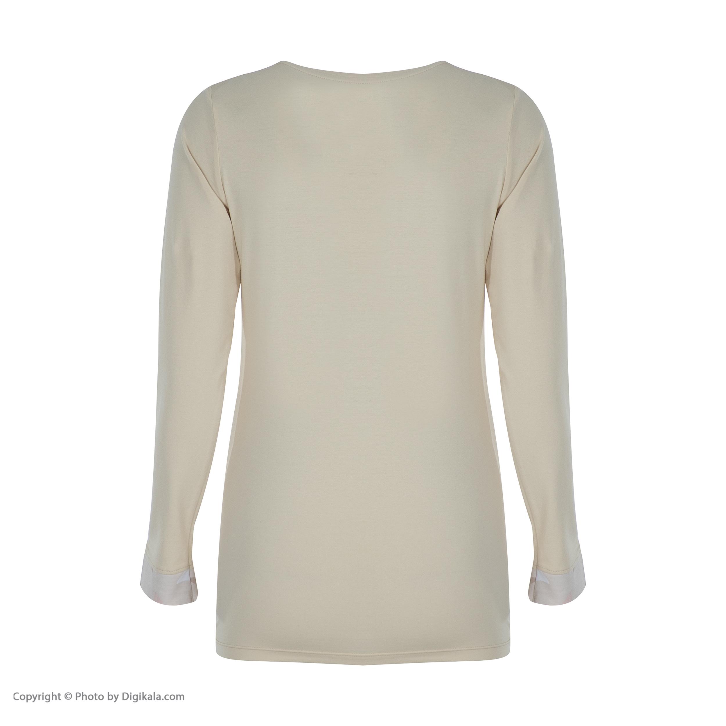 خرید                                      ست تی شرت و شلوار راحتی زنانه ناربن مدل 1521242-07