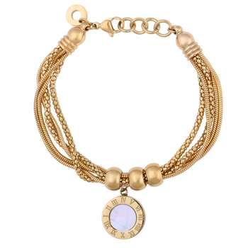 دستبند زنانه مدل دایره کد B3155