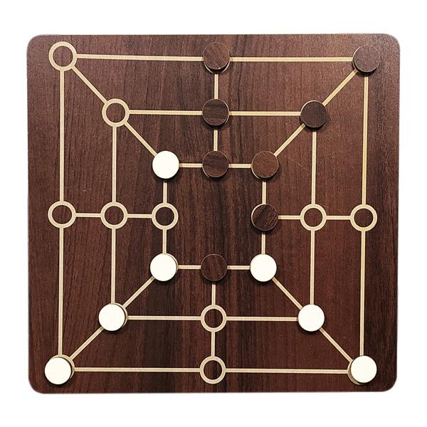 بازی فکری محصولات امید مدل دوز و شطرنج کد 132