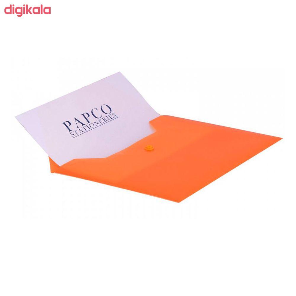 پوشه دکمه دار پاپکو مدل 101M بسته 2 عددی main 1 1