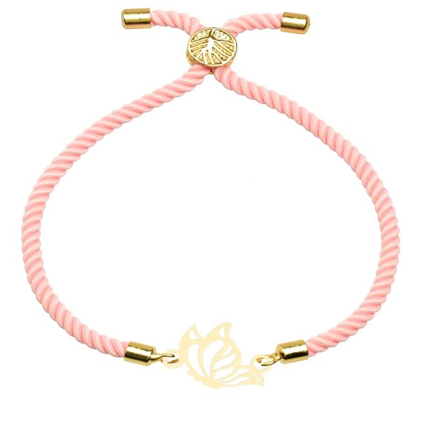 دستبند زنانه کرابو طرح پروانه مدل kb11-51