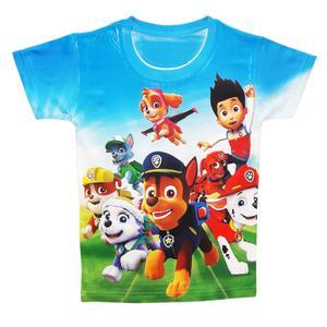 تی شرت پسرانه طرح سگ های نگهبان کد S60