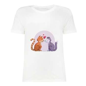 تی شرت آستین کوتاه دخترانه مدل SK991027-014