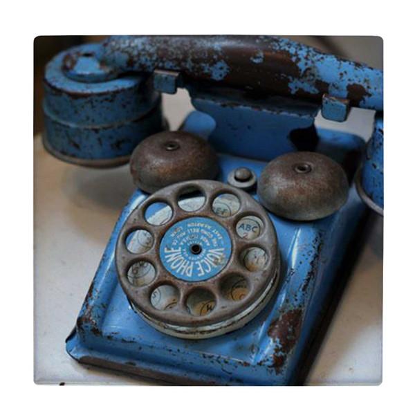 کاشی طرح تلفن قدیمی کد wk4127