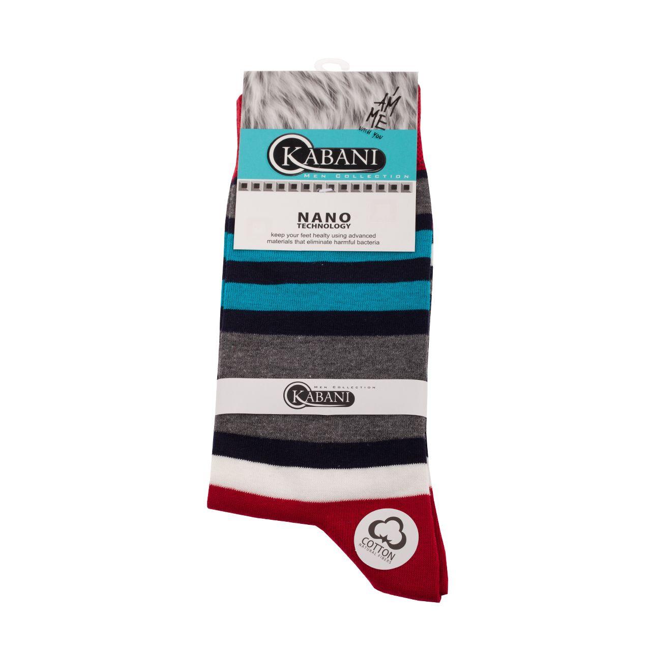 جوراب مردانه کابانی مدل SAJ2020 کد 108 -  - 3