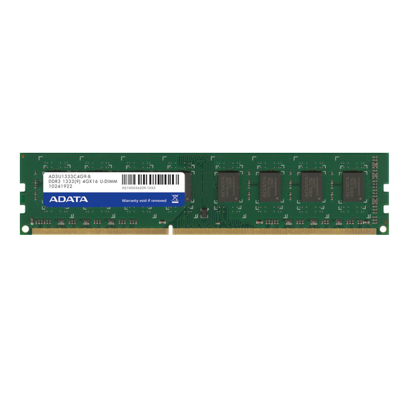 رم کامپیوتر ای دیتا مدل Premier DDR3 1333MHz U-DIMM ظرفیت 4 گیگابایت