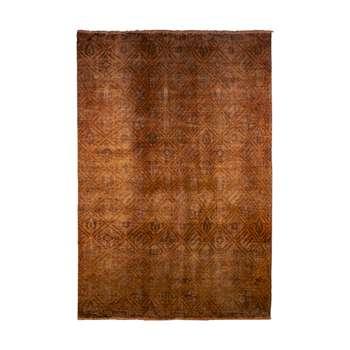 فرش دستبافت رنگ شده شش متری کد 1347