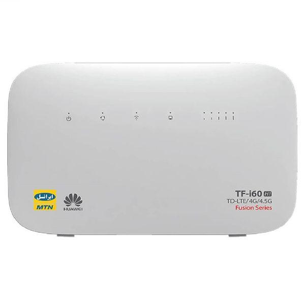 مودم 4G/4.5G/TD-LTE ایرانسل مدل TF-i60 H1 به همراه24 گیگابایت اینترنت3 ماهه