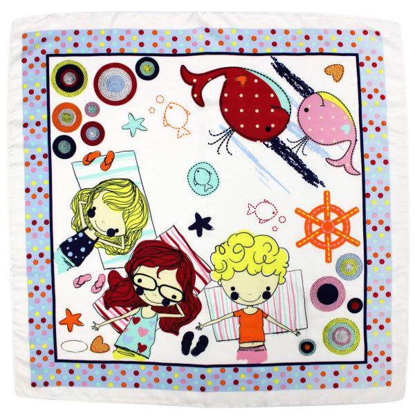 روسری دخترانه کد B633