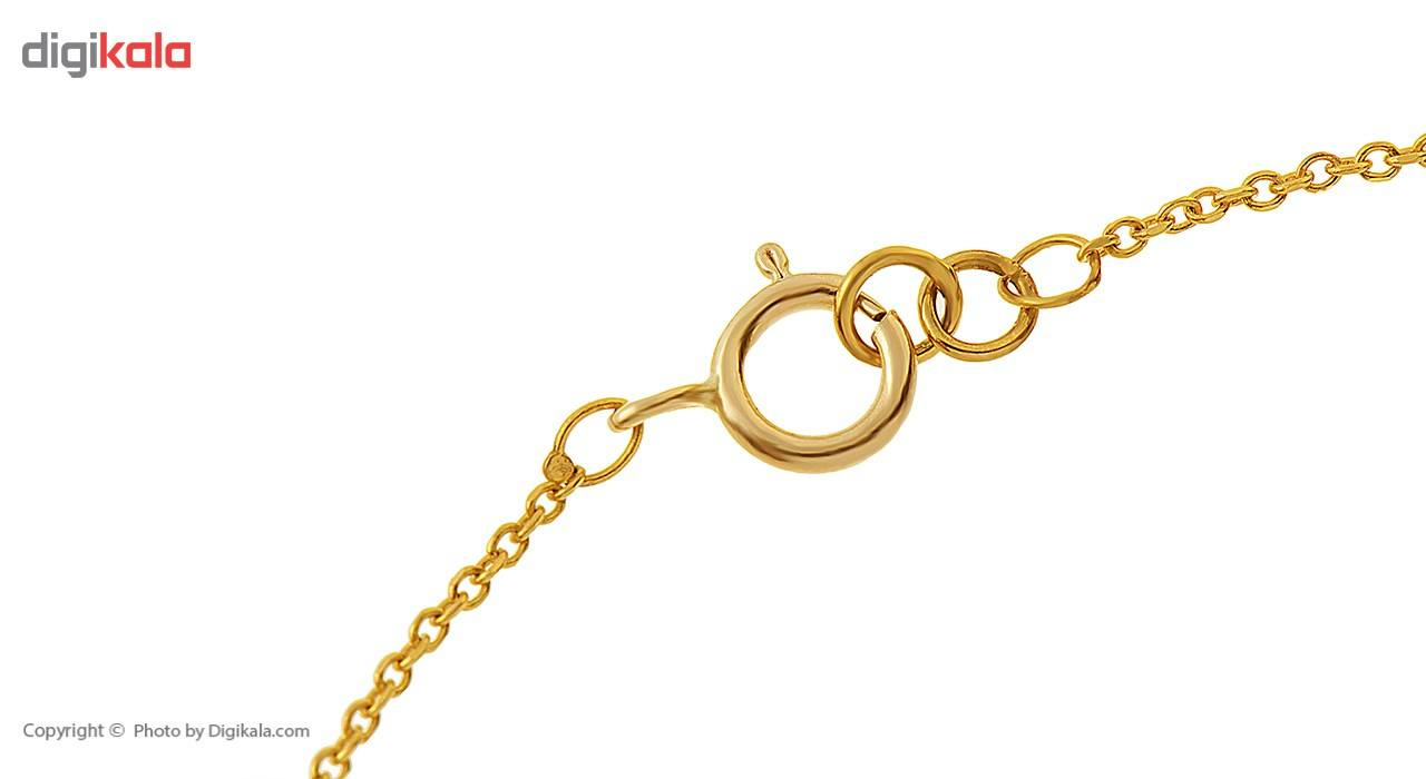 دستبند طلا 18 عیار ماهک مدل MB0180 - مایا ماهک -  - 1