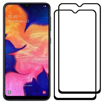 محافظ صفحه نمایش مدل FCG مناسب برای گوشی موبایل سامسونگ Galaxy A10 بسته دو عددی