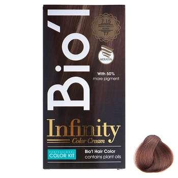 کیت رنگ موی Bio'l شماره 7.15 بلوند تنباکویی متوسط