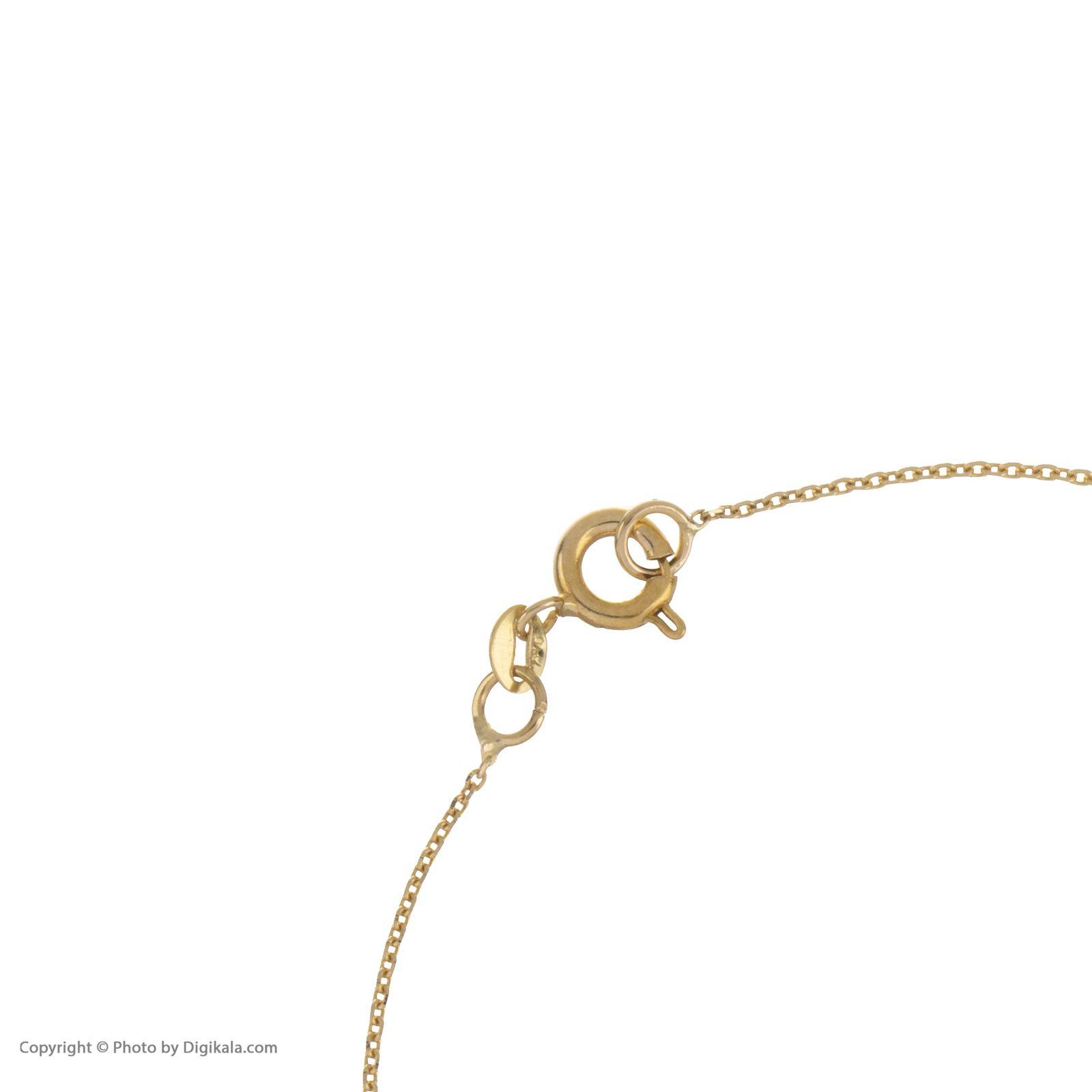 دستبند طلا 18 عیار زنانه مایا ماهک مدل ZMB1051 -  - 5