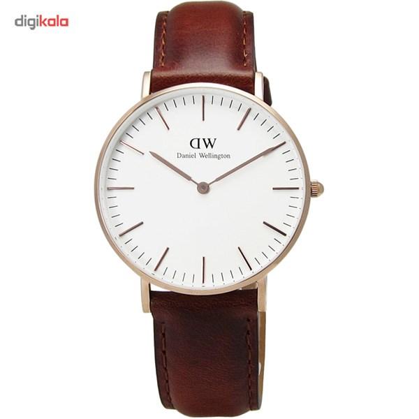 ساعت مچی عقربه ای زنانه دنیل ولینگتون مدل DW00100035