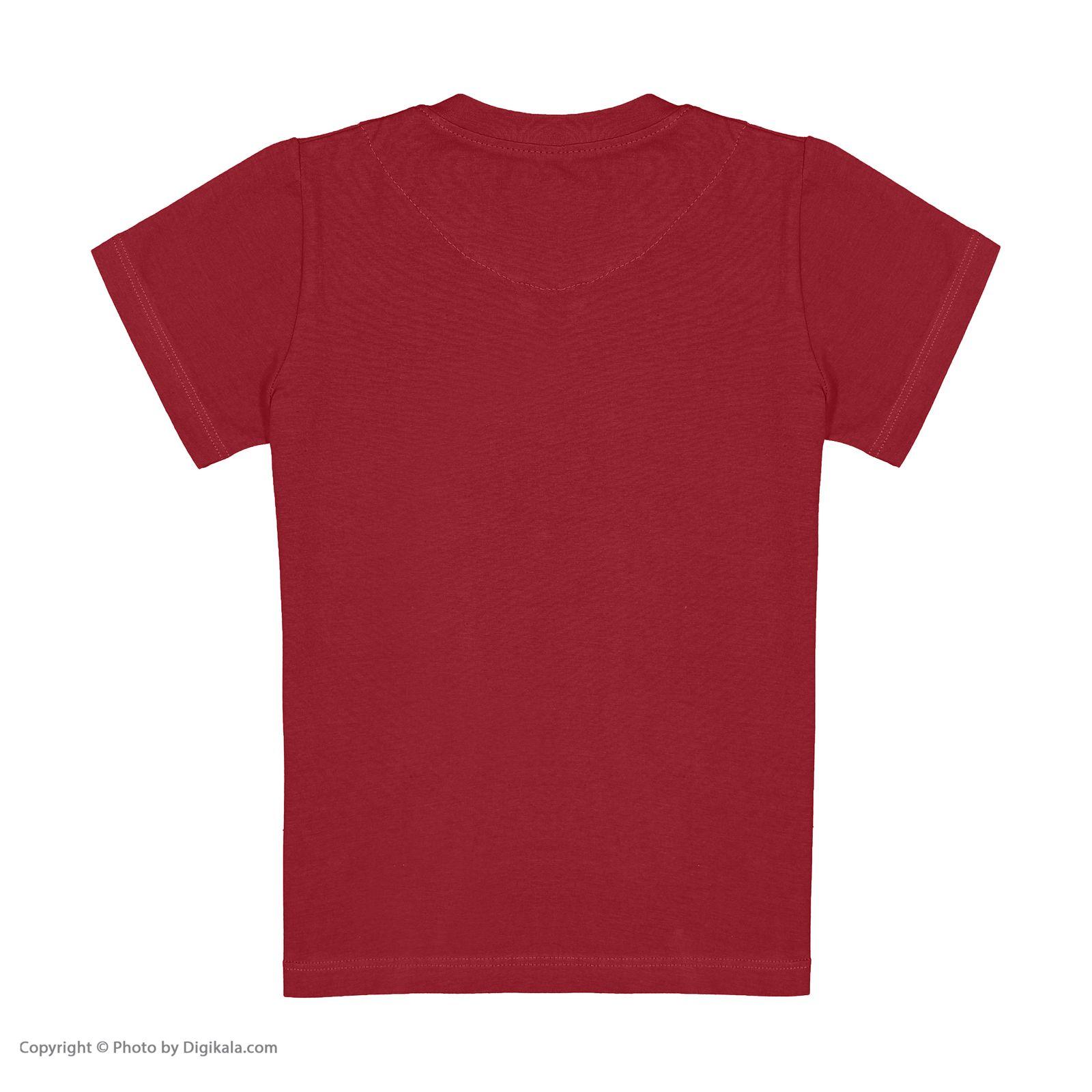 ست تی شرت و شلوارک پسرانه مادر مدل 421-70 -  - 5
