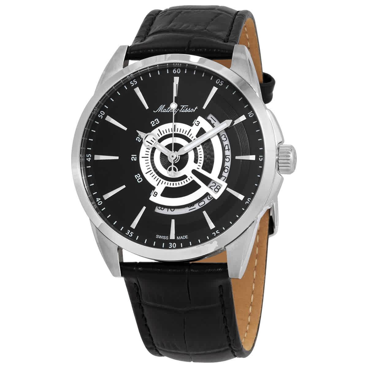 ساعت مچی عقربهای مردانه متی تیسوت مدل H711AN