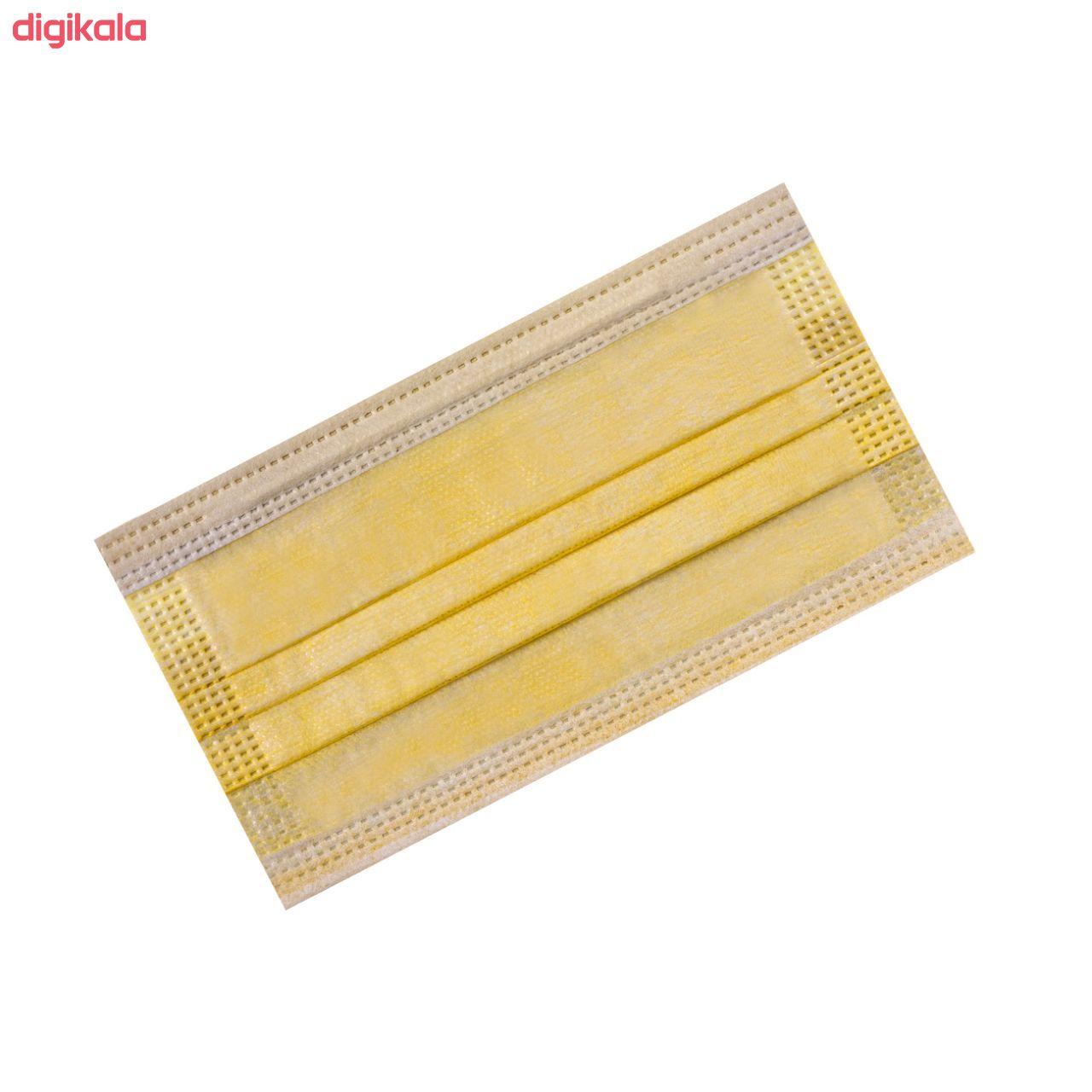 ماسک تنفسی انزانی مدل LY014 بسته 50 عددی main 1 2
