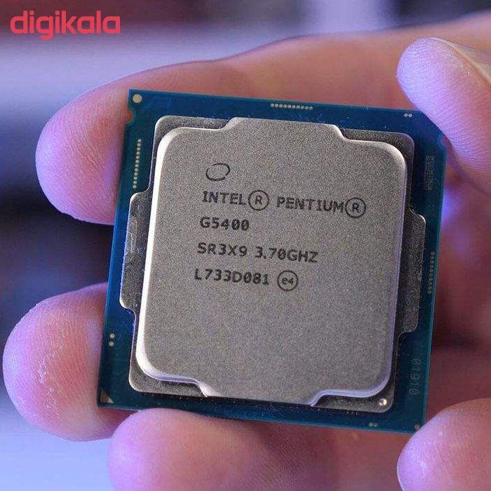 پردازنده مرکزی اینتل سری Coffee Lake مدل Pentium Gold G5400 Tray