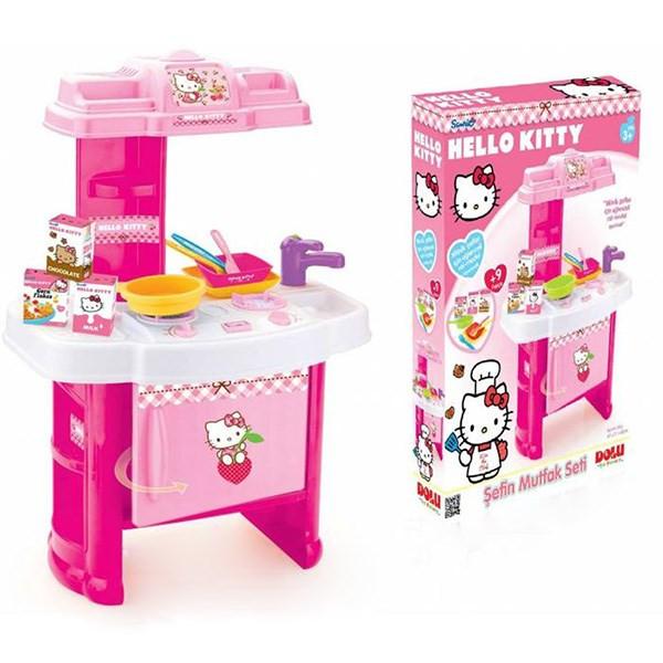 ست اسباب بازی دولو مدل Hello Kitty 1408