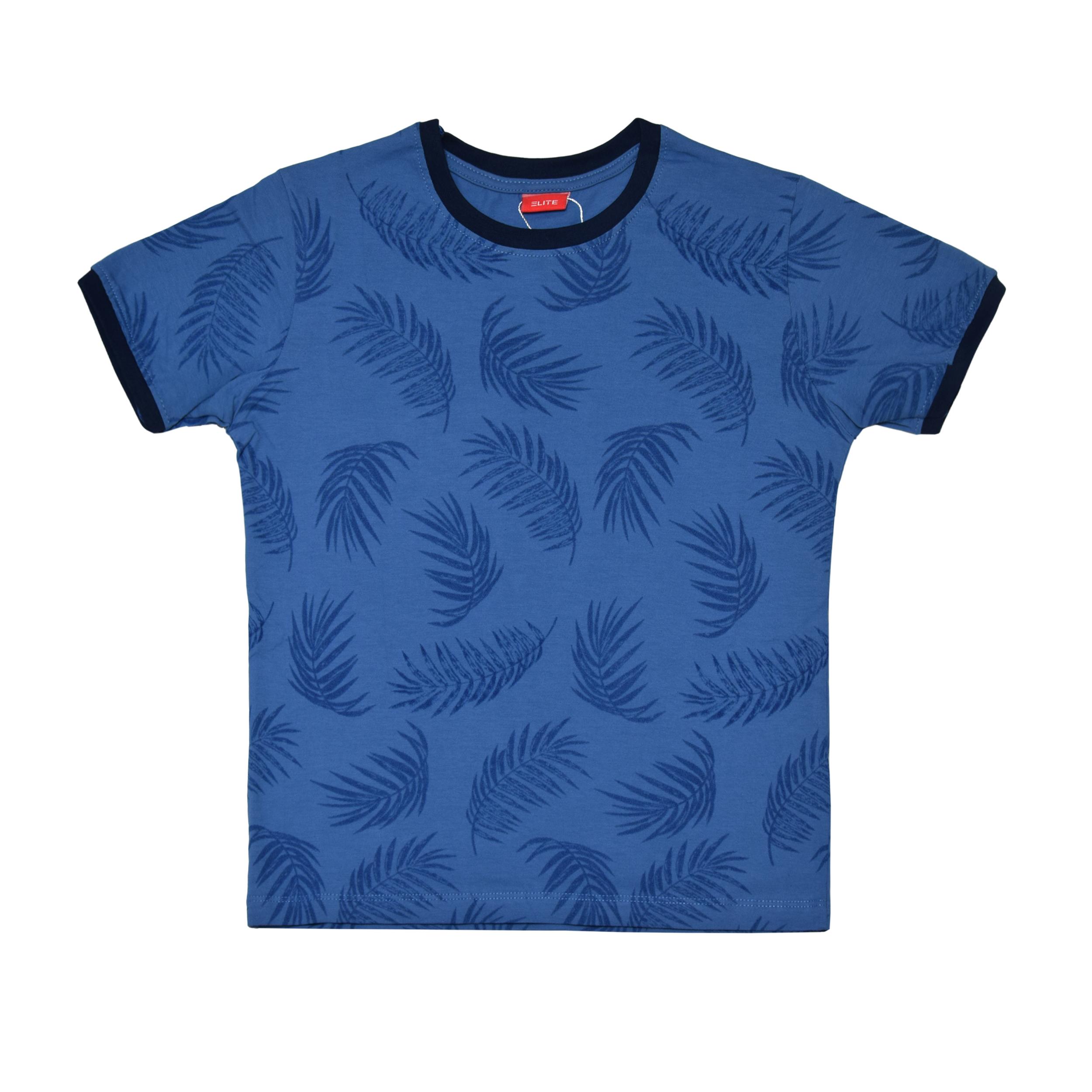 ست تی شرت و شلوارک پسرانه الیت مدل 1-669 -  - 3