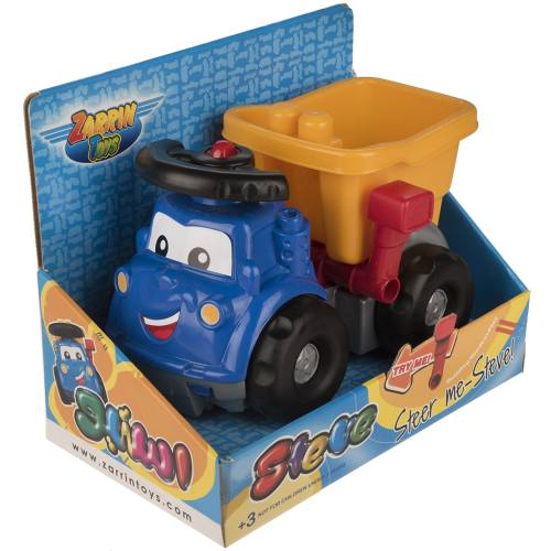 ماشین بازی زرین تویز مدل Truck Steve J1