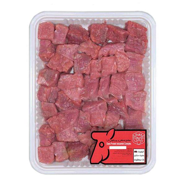 گوشت خورشتی ماهیچه گوساله دارا - 1 کیلوگرم