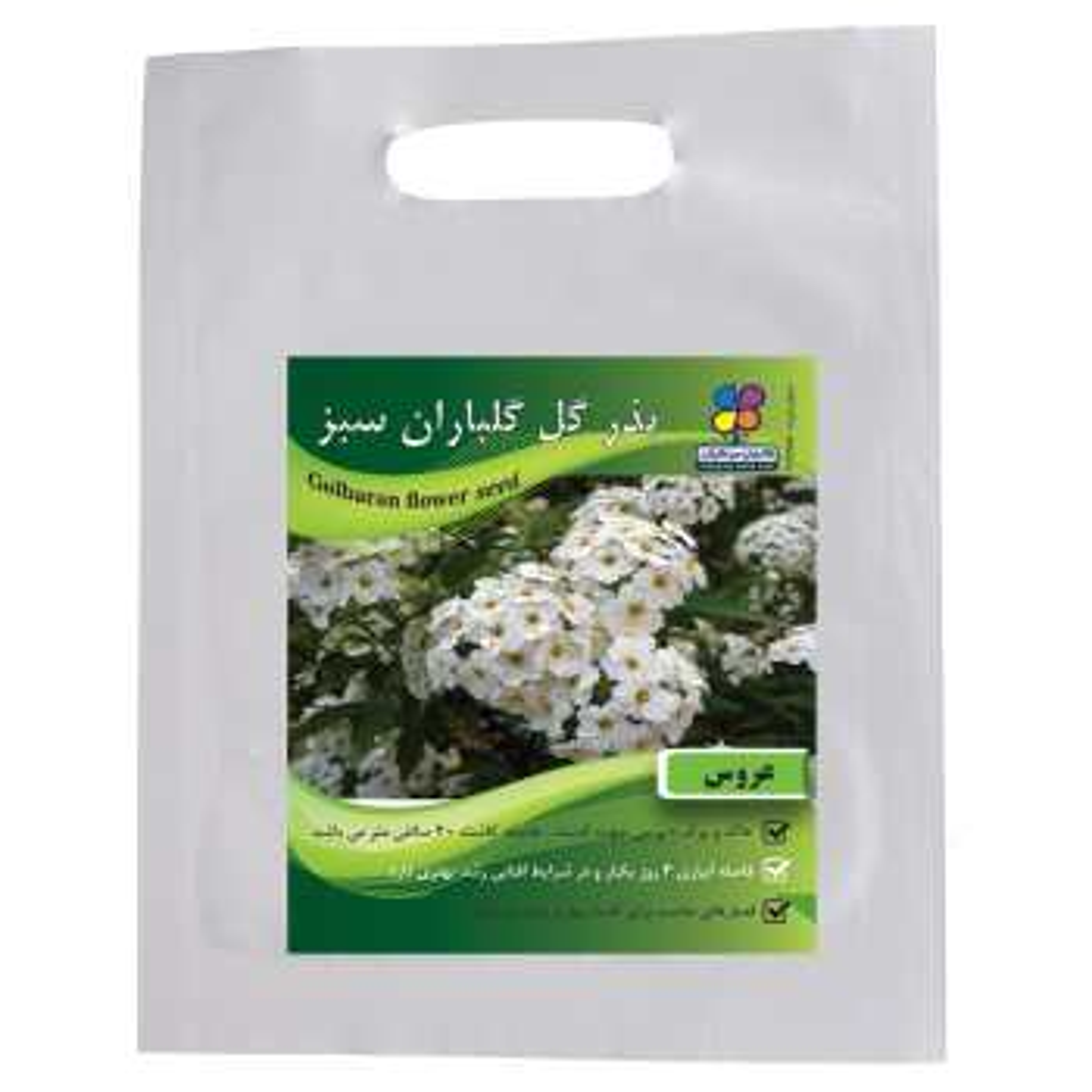 بذر  گل عروس گلباران سبز