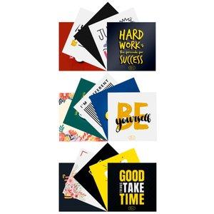 کارت پستال انتشارات سیبان مدل انگیزشی مجموعه 15 عددی
