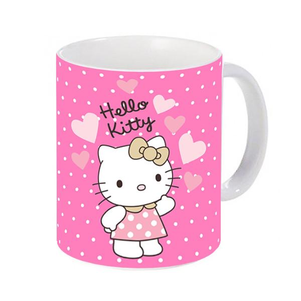 ماگ طرح کیتی Hello Kitty کد 218