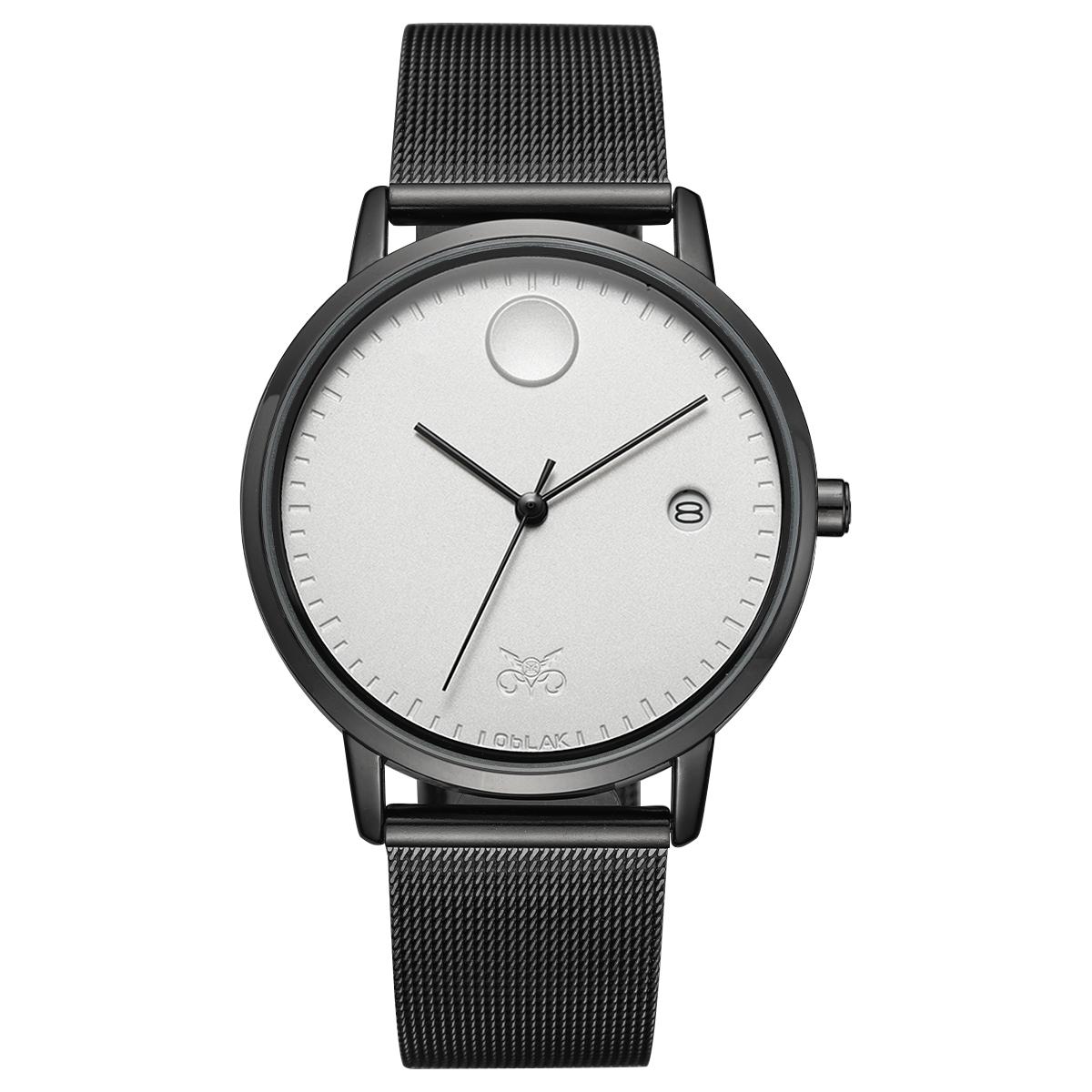 قیمت                      ساعت مچی عقربه ای مردانه اوبلاک مدل 72695