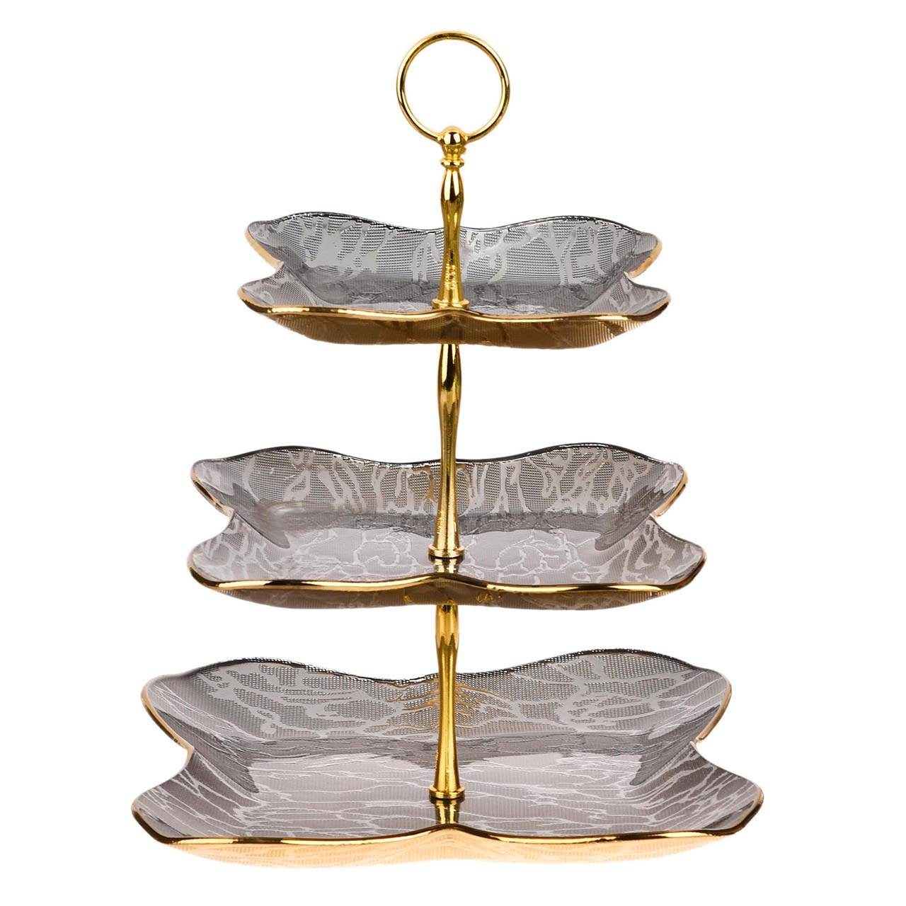 شیرینی خوری لورنزا مدل پروانه 3