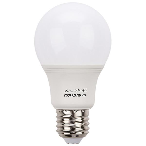لامپ ال ای دی 9 وات حبابی نور پایه E27