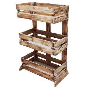 قفسه چوبی کد 078