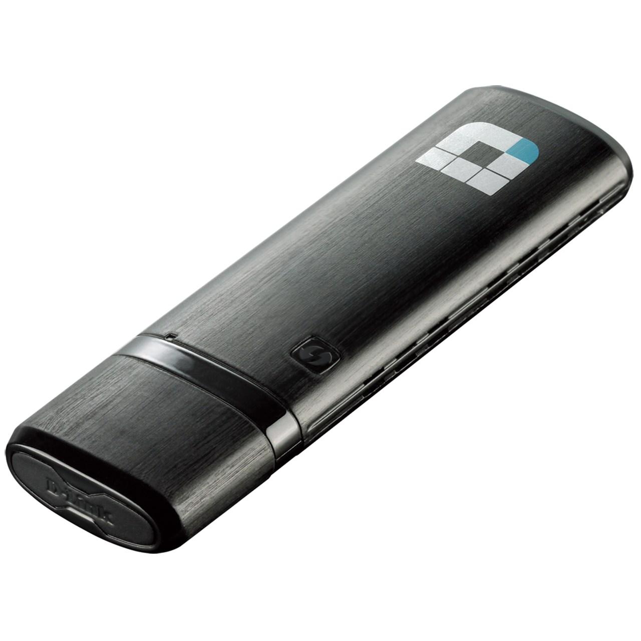 کارت شبکه USB بیسیم و دوباند دی-لینک مدل DWA-182