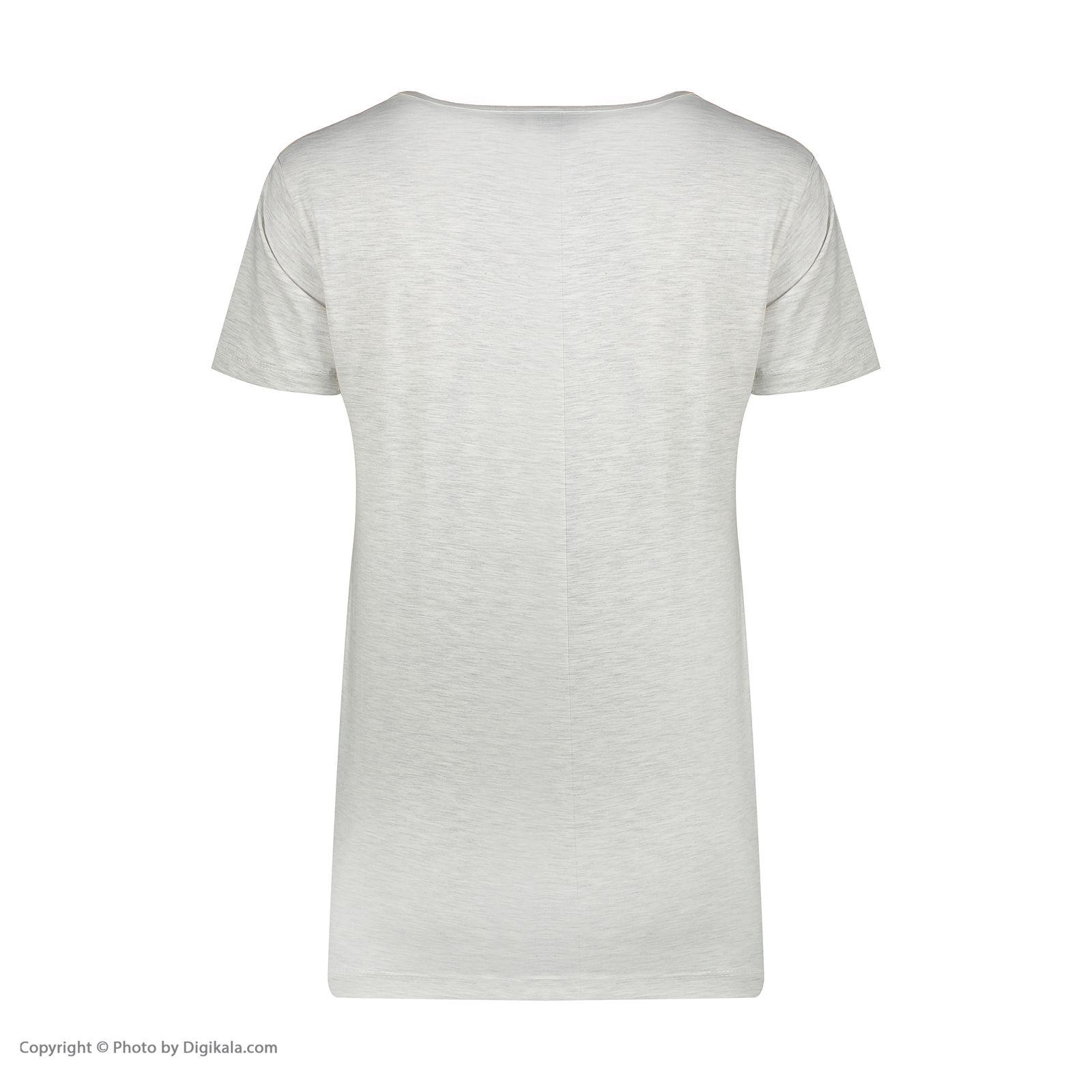 ست تی شرت و شلوار زنانه فمیلی ور طرح دخترکد 0224 -  - 8