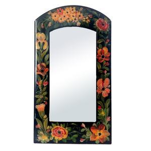 آینه مدل گل و مرغ کد 003