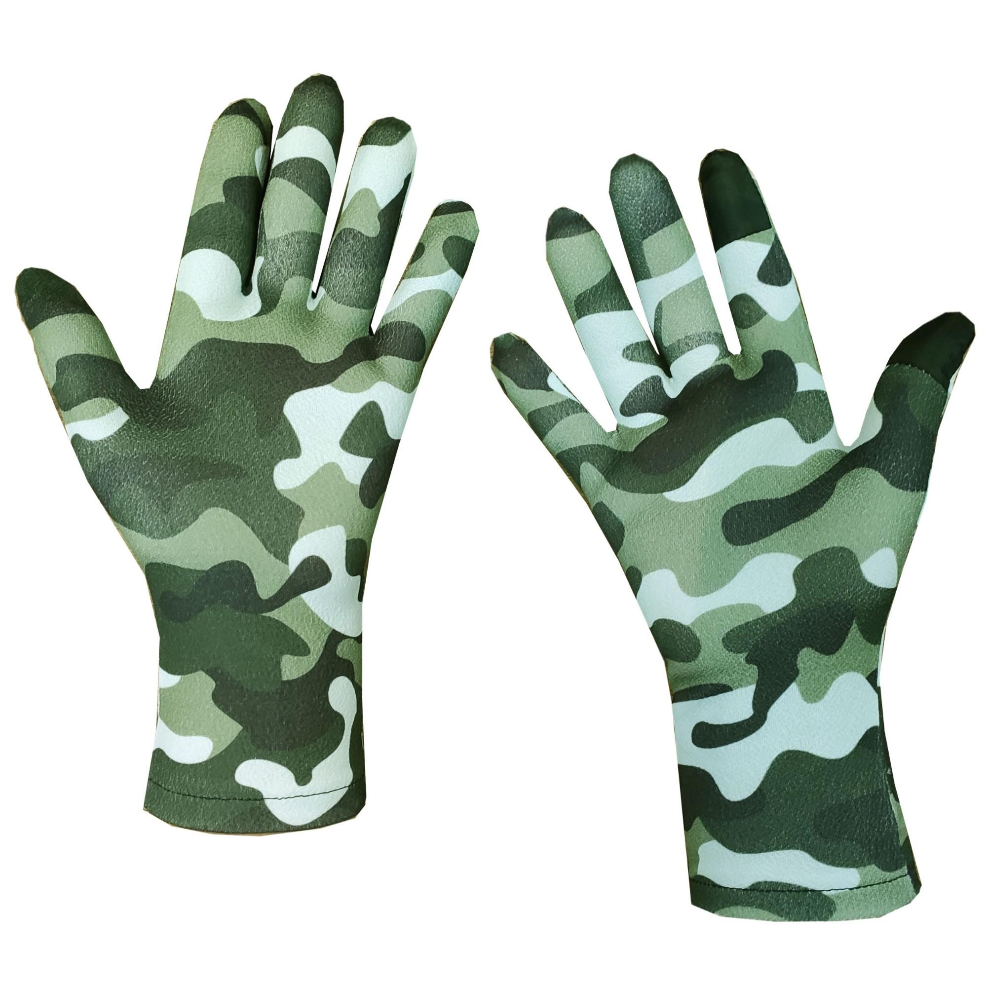 دستکش مردانه تادو طرح چریکی کد 314