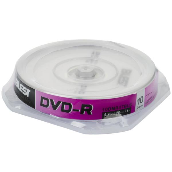 دی وی دی خام بلست مدل DVD-R بسته 10 عددی